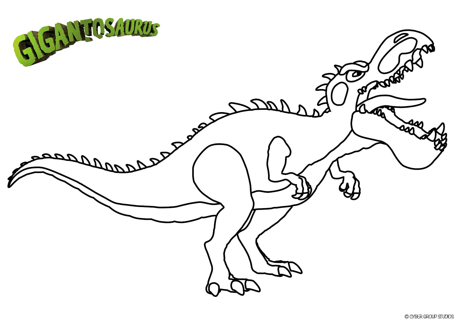 Gigantosaurus on Disney Junior
