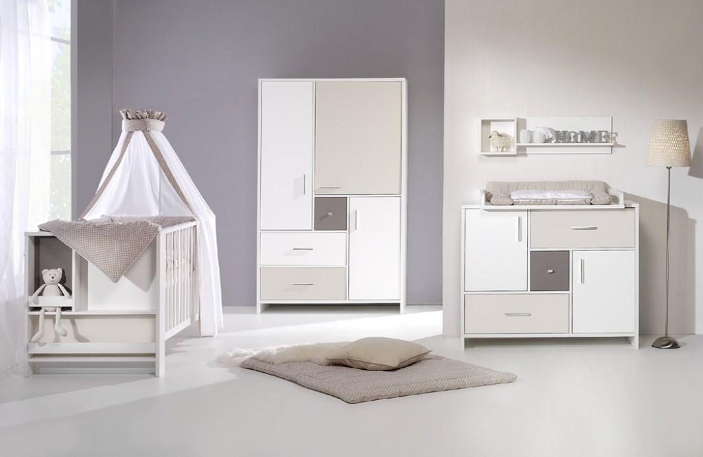 Habitaciones con estilo habitaciones de beb s con paredes for Habitacion bebe gris