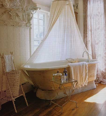 shabby chic baño