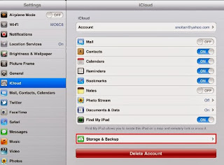 backup iphone data on iCloud