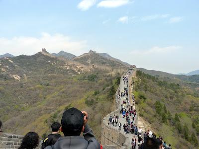 Visitar la muralla china en Badaling