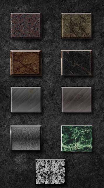 estilos o styles de granito