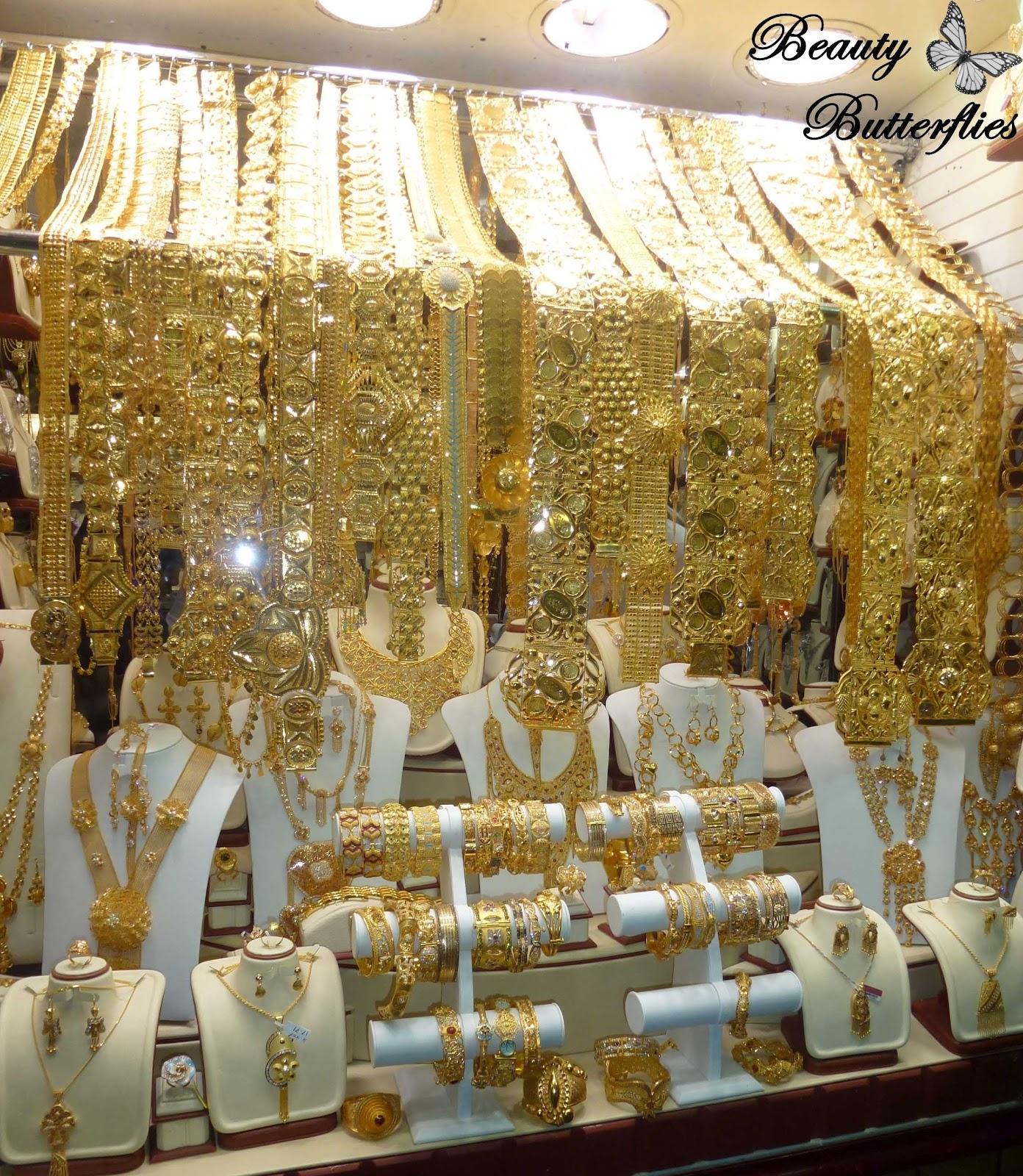 Goldschmuck kaufen  Urlaub] Dubai – Gold Souk