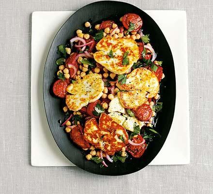 vegetarian recipe, tomato, chickpea,