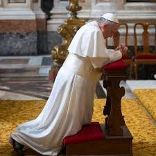 Pray for Pope Francis