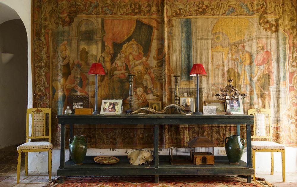 decor inspiration | arniano villa in chianti south of siena