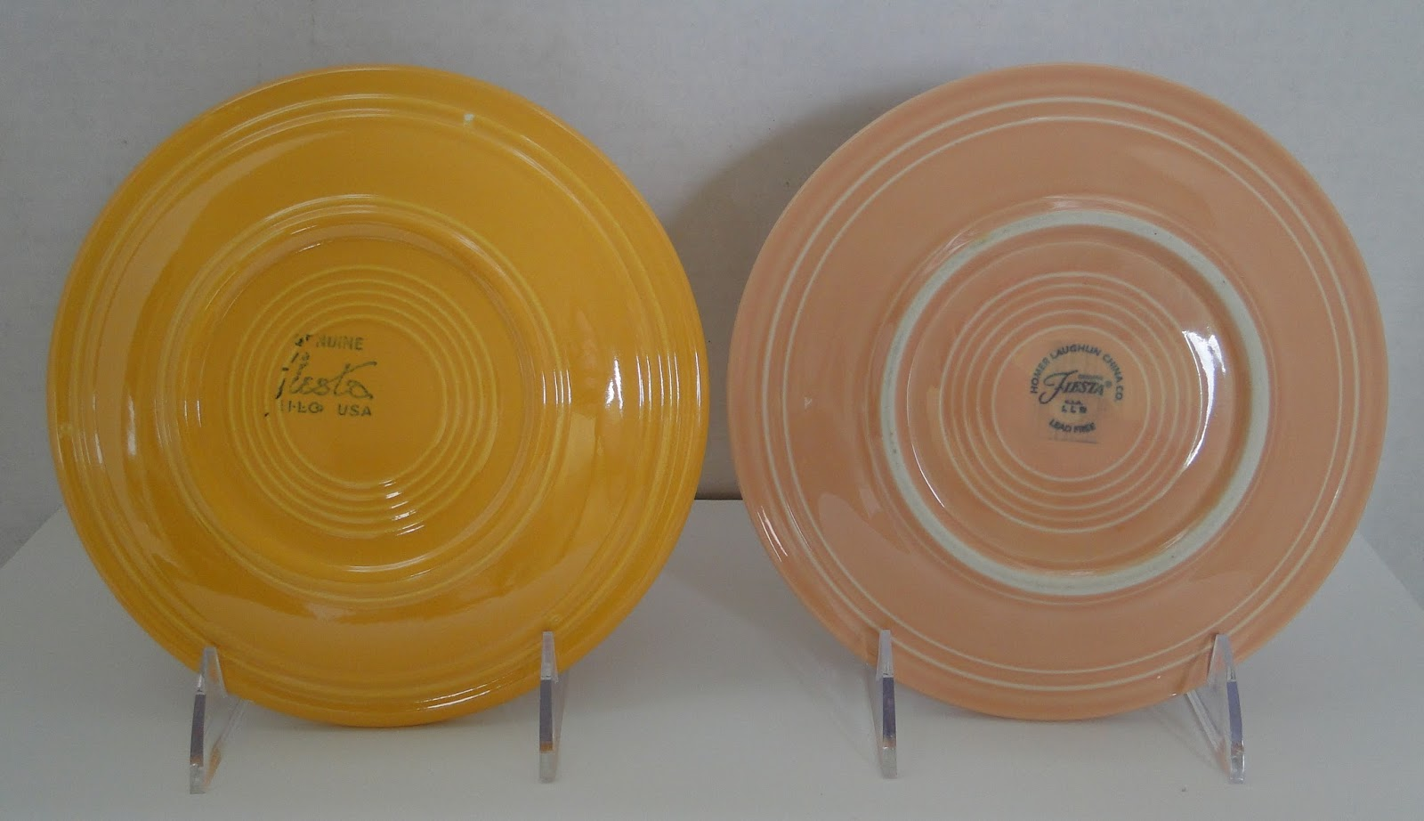DISHing with HLCCA: Vintage vs. P86 Fiesta®: Plates, Platters ...