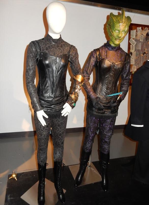 Doctor Who Jenny Flint Madame Vastra costumes