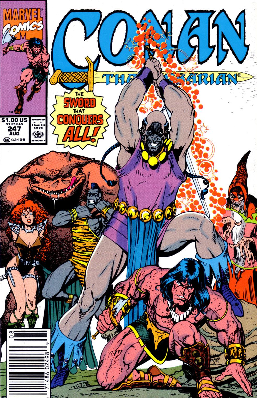 Conan the Barbarian (1970) Issue #247 #259 - English 1