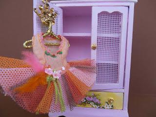 miniature ballerina dress