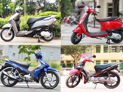 Thị trường xe máy Việt Nam qua thời 'làm giá'