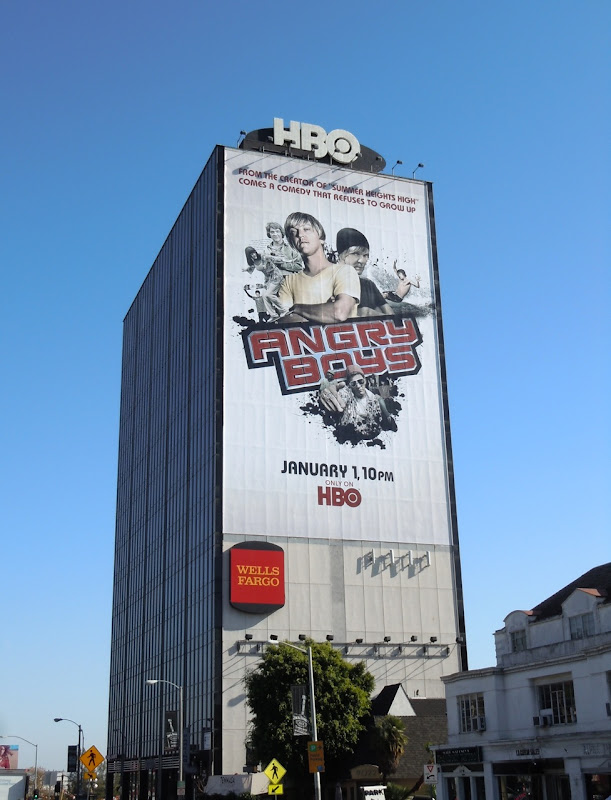 Giant Angry Boys billboard