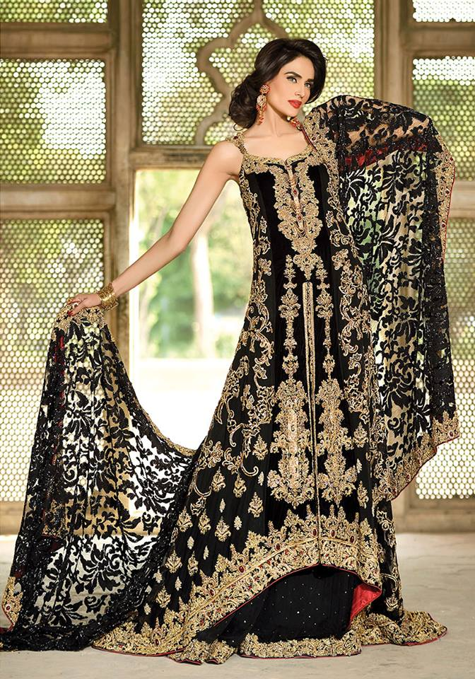 Sadia sadiq bridal collection latest bridal dresses 2015 for Current wedding dress styles