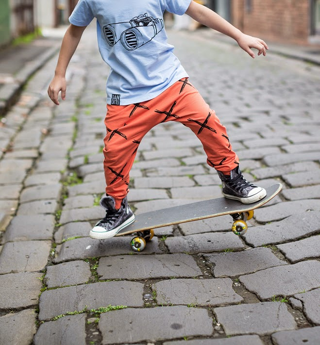 Bandit Kids skater style kidswear for spring-summer 2014/15