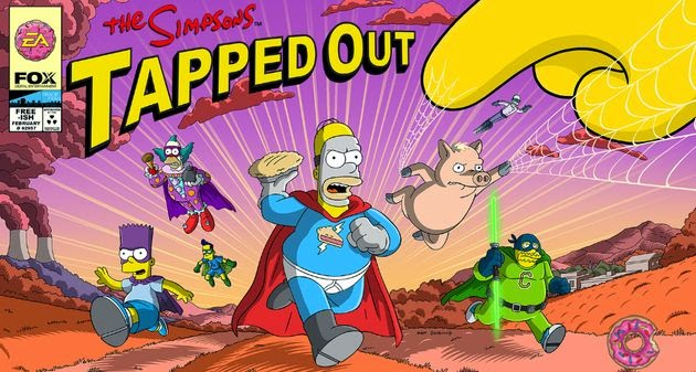 Simpsons: Tapped Out Hack 4.13.2 SuperHeroes [ Donuts * Efectivo * Tickets * Articulos Viejos* Limpie los Residuos *]
