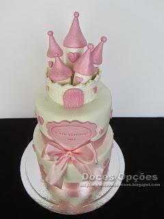 bolo batizado castelo bragança