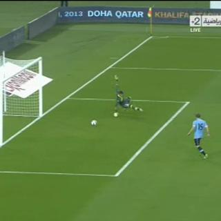 بيدرو يسجل الهدف الثاني للماتدور الأسباني   أسبانيا 2 - 1 أوروجواي   تعليق : علي محمد علي