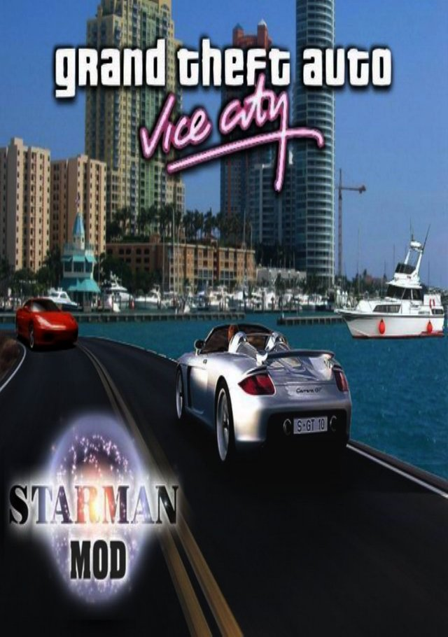 GTA Vice City Starman Game Poster | GTA Vice City Starman Game Cover