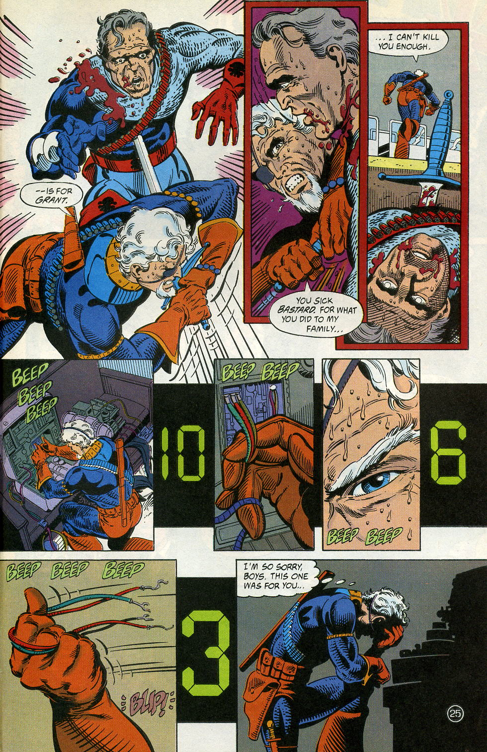 Deathstroke (1991) Issue #4 #9 - English 31