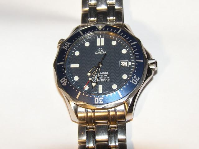 Omega Seamaster 2531.80 dial