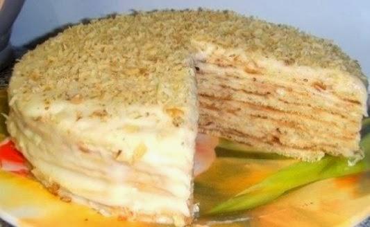 торт на сковороде простые рецепты