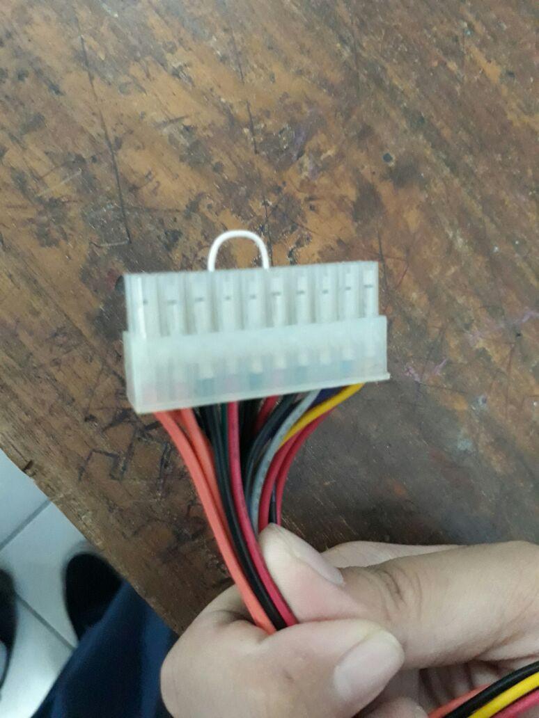 Komputer Cerdas Kabel Power Jamper Psu