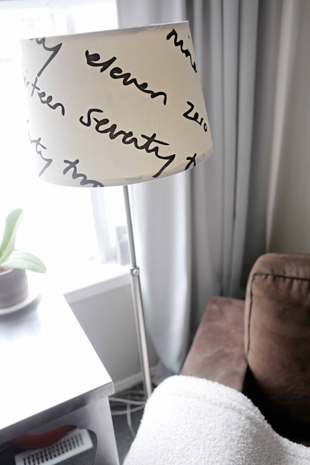 Beach house in the city lamp shade redo diy for Redo lamp shades