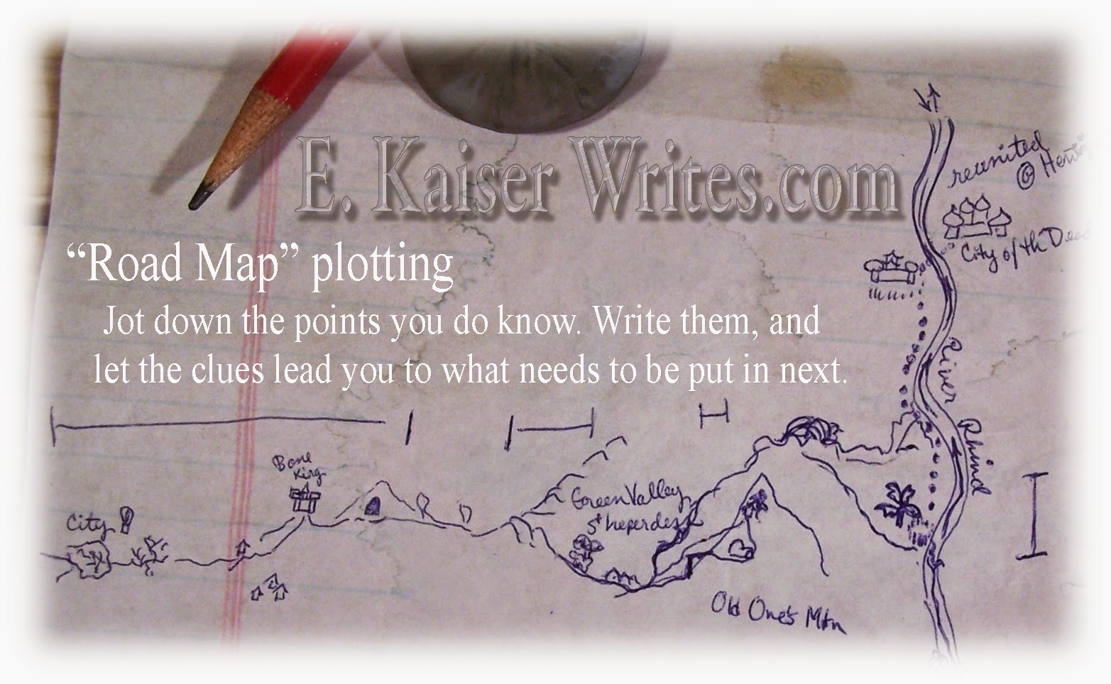 how to write a good plot for a novel
