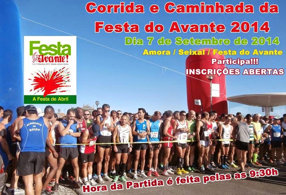 Corrida da Festa do Avante. 7 de Setembro 2014