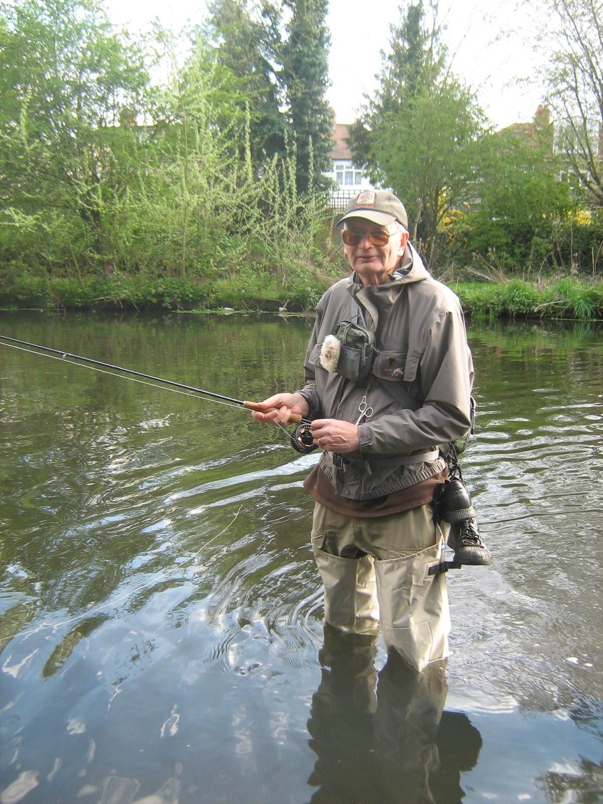 Breaking rods fly fishing river wandle magic for River fishing pole