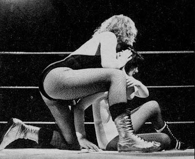 Rusty Blair vs Carla Sanchez - Wrestling