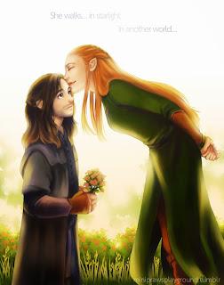 the-hobbit-fan-art-kili-and-tauriel