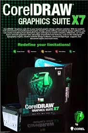 Free Download Software : Corel Draw Graphic Suite X7 Full Version