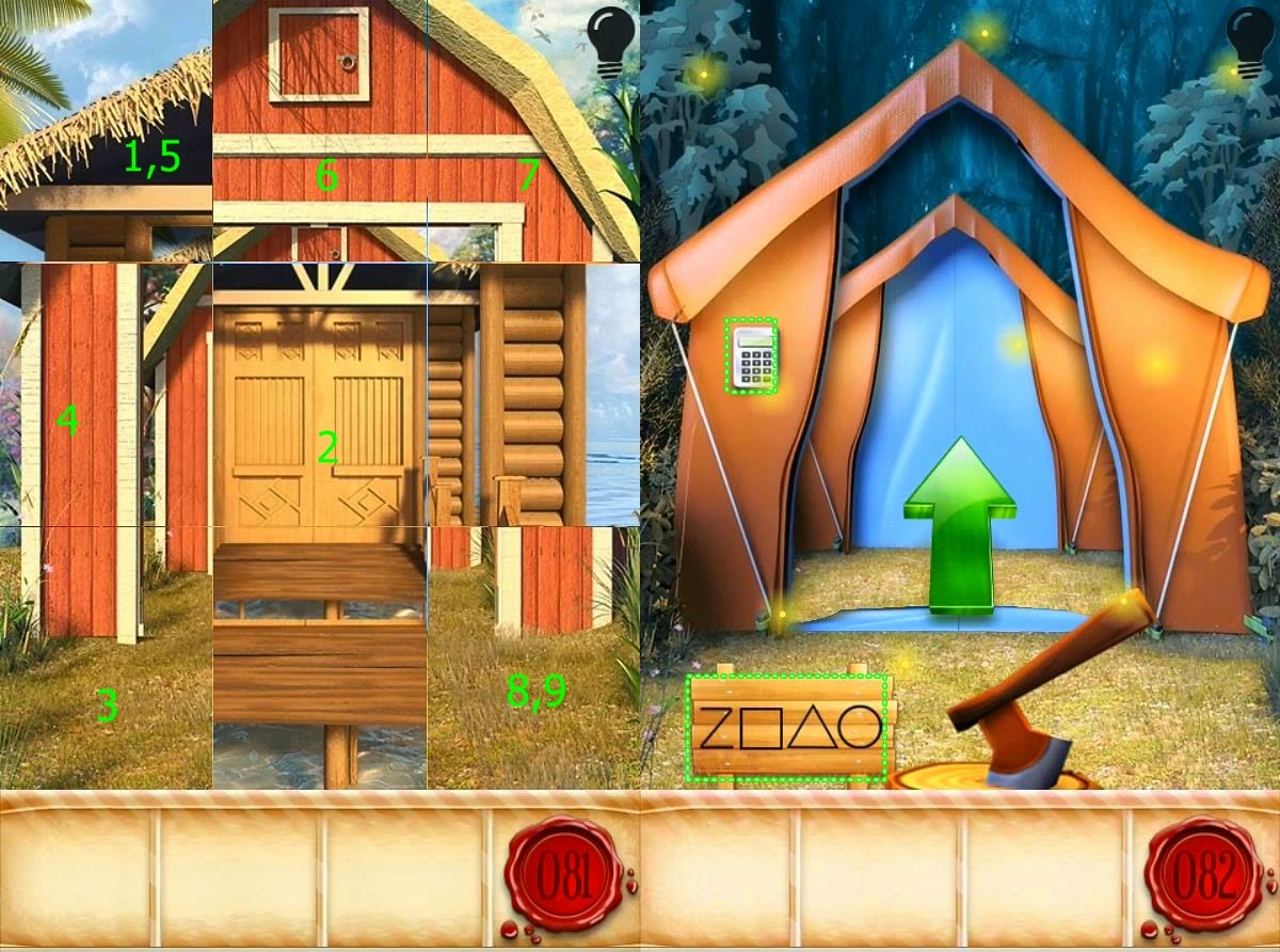 100 Doors Seasons Part 2 Level 81 82 83 84 85 Hints