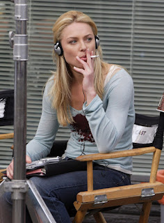 Elisabeth Rohm Smoking Cigarettes