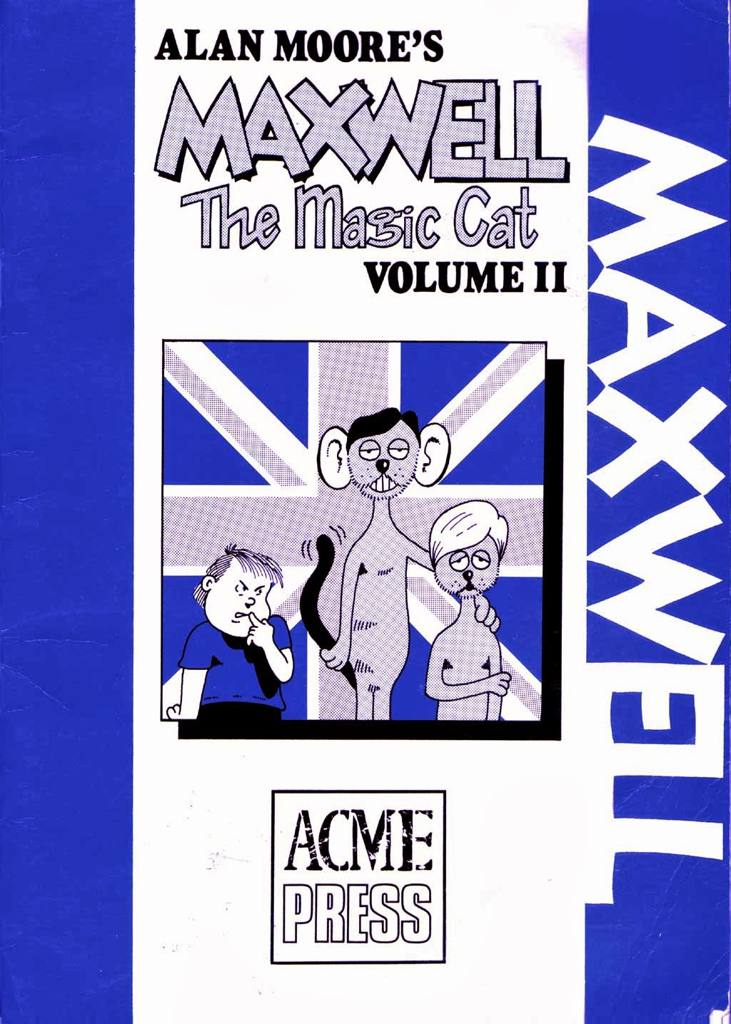 Figure 126: Maxwell The Magic Cat Was Collected In Four Issues By Acme  Press In The Mid80s  Its Only Reprint To Date
