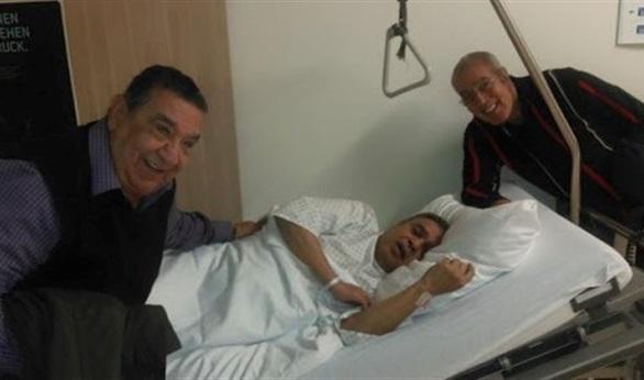 آخر صورة للممثل سامي العدل في المستشفى قبل وفاته