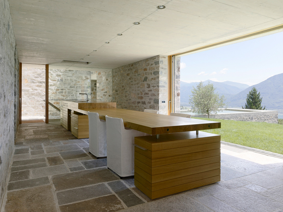 Stone house switzerland most beautiful houses in the world for Stone house interior