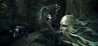 Basilisco. Harry Potter y la Cámara Secreta.