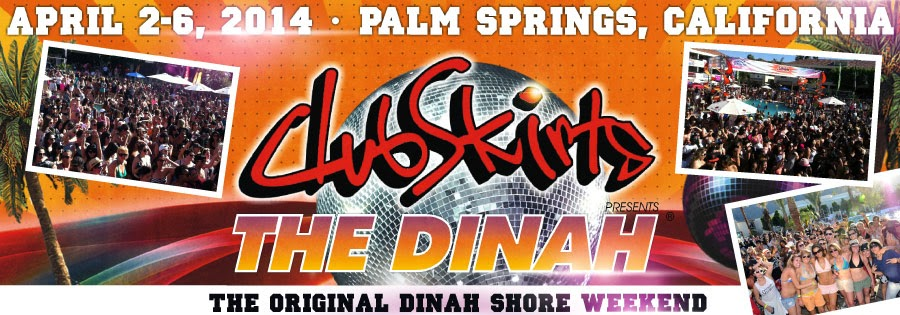 Club Skirts Dinah Shore Weekend Palm Springs