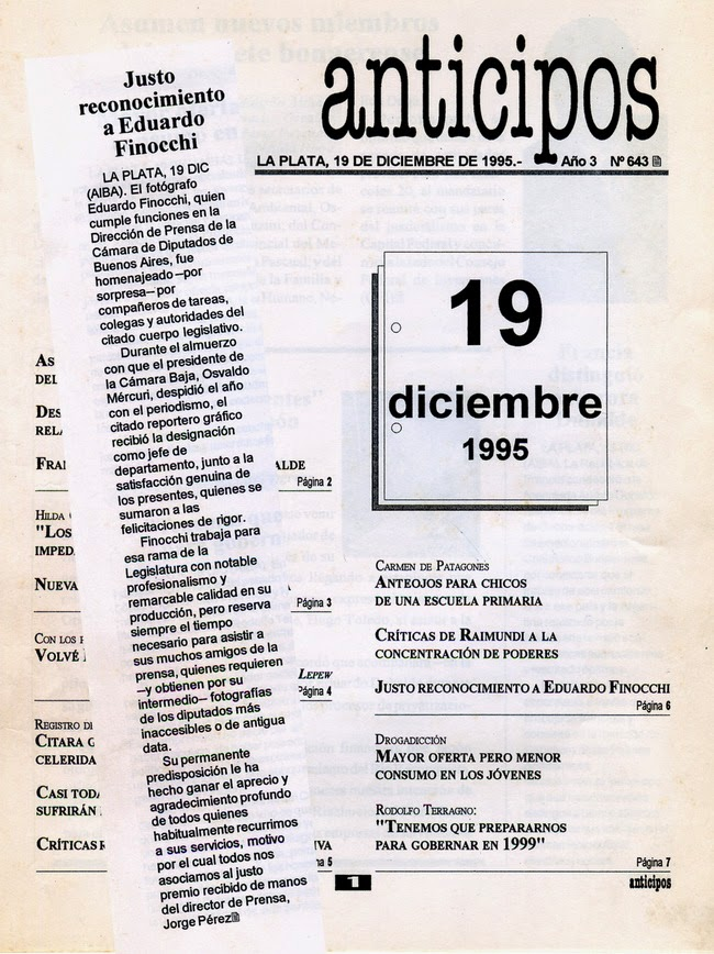 """Agencia """"AIBA"""" 1995"""