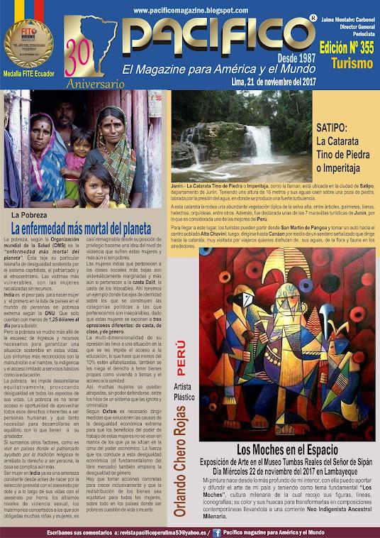 Revista Pacifico Nº 355 Turismo