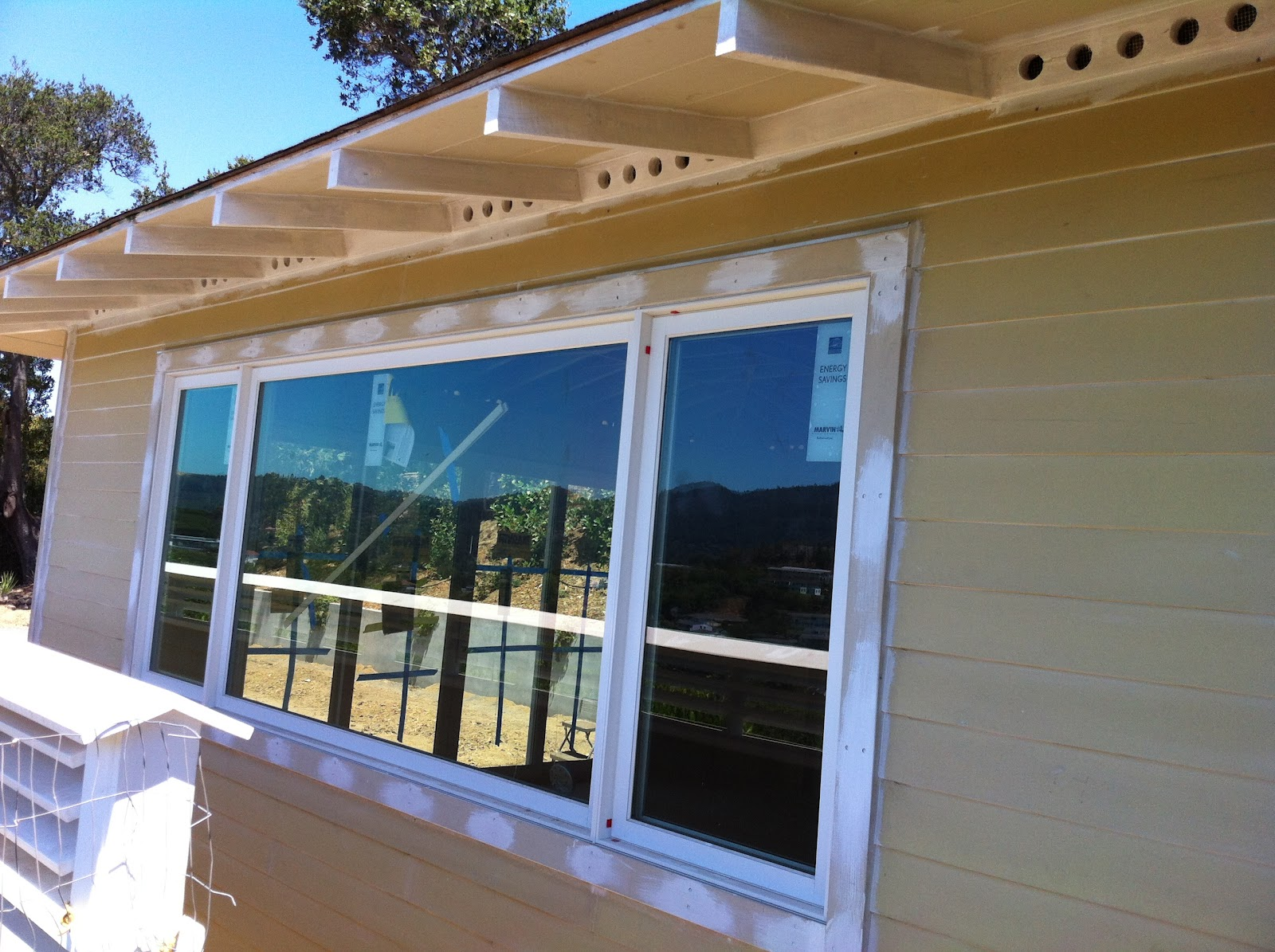 Greenbrae Marvin Stone White Clad Windows And Doors Ot
