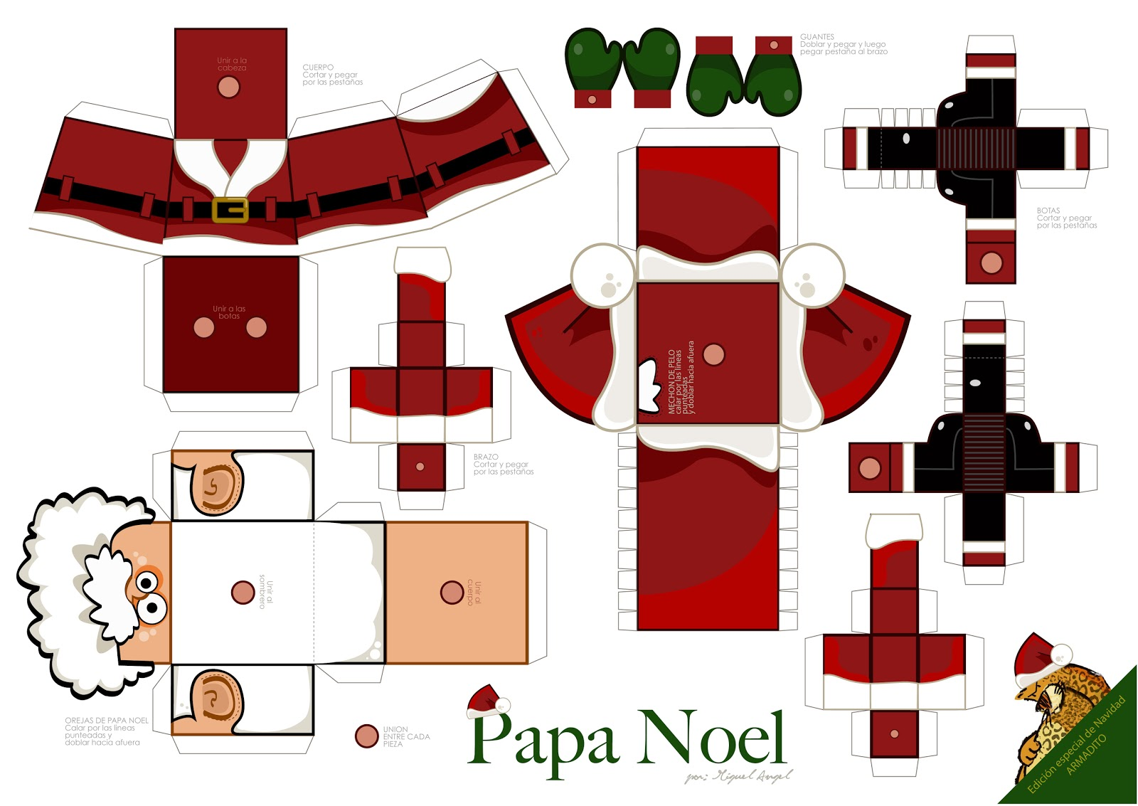 Pin Fuente Papertoys on Pinterest