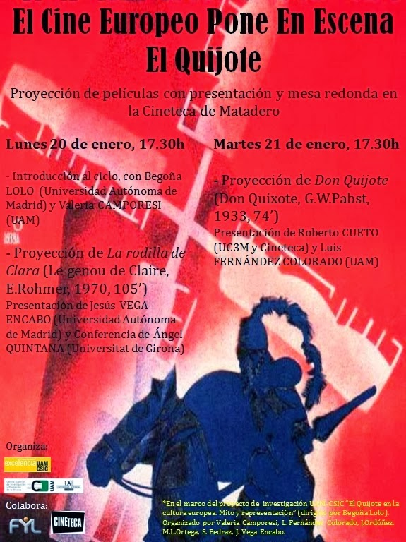 Jornadas Quijote en el Cine. Literaturas Hispánicas UAM