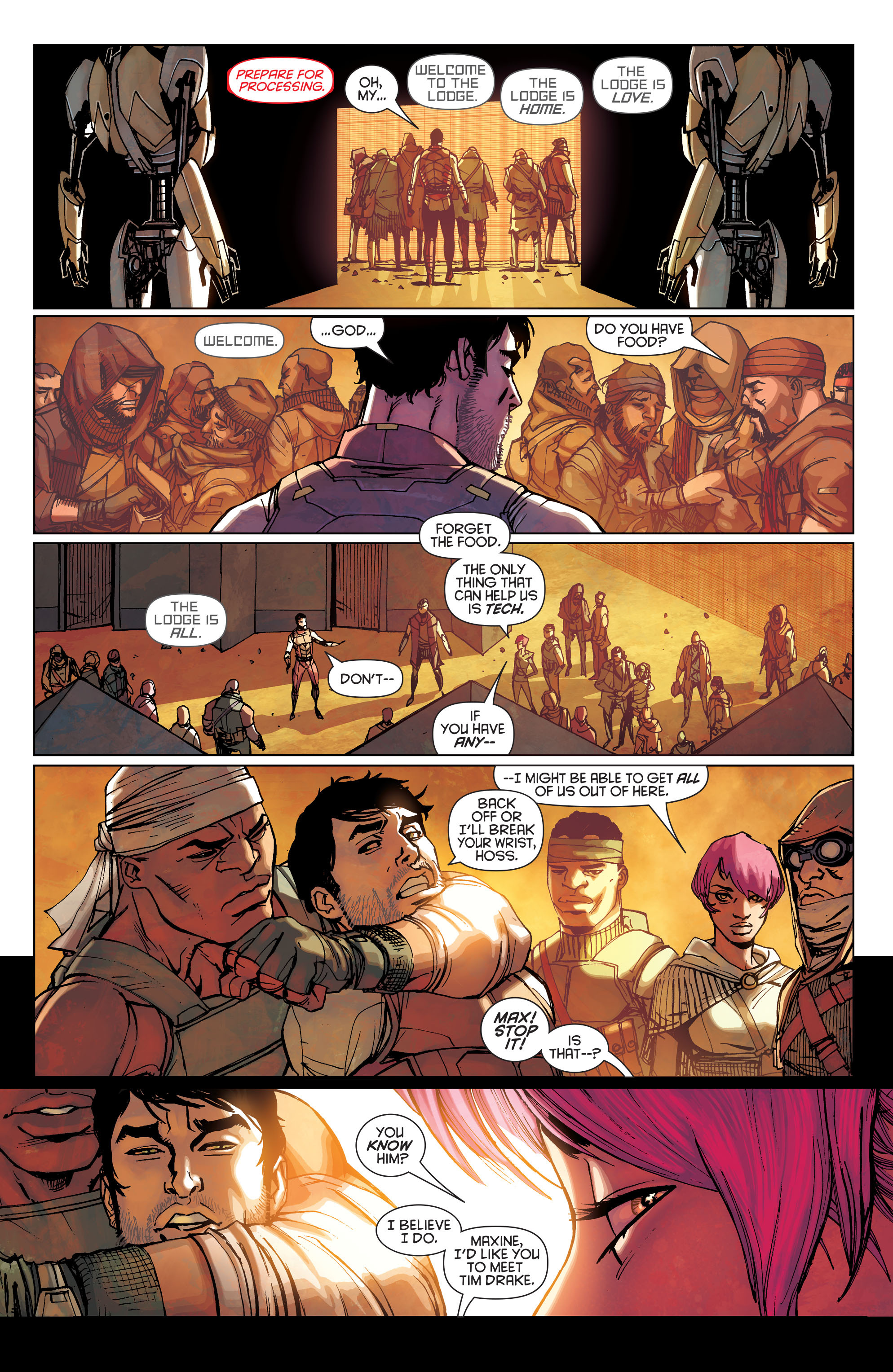 Batman Beyond (2015) Issue #1 #1 - English 21