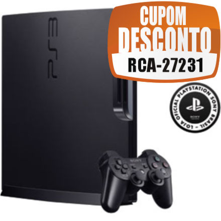 Cupom Efácil - Playstation 3 160GB Wifi HDMI Bluray