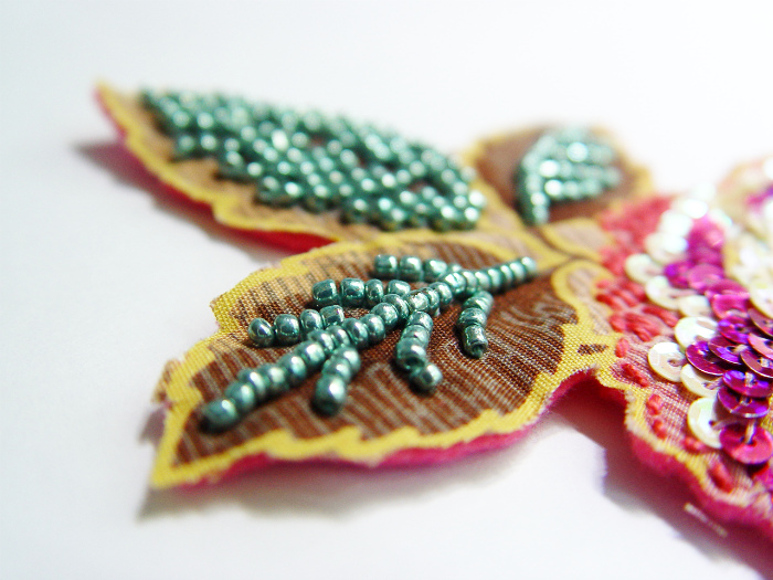 New On The Blog! Laying Beads U0026 Sequins {Embroidery Workshop}
