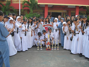 Angkatan 6 , 7 dan guru SMPN 15