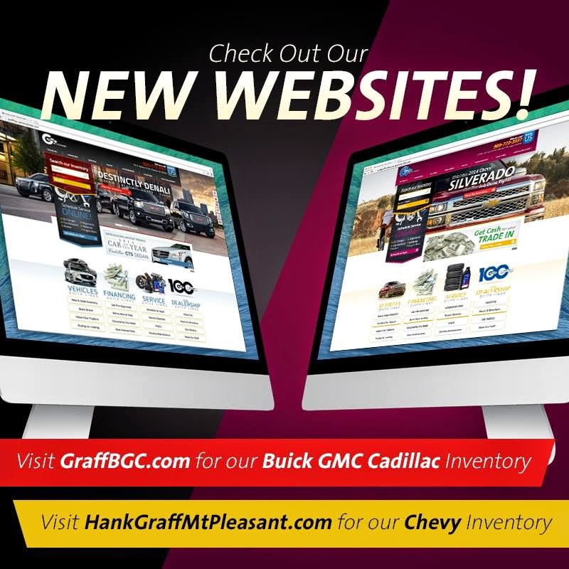 Graff Mt. Pleasant's NEW WEBSITES are LIVE!